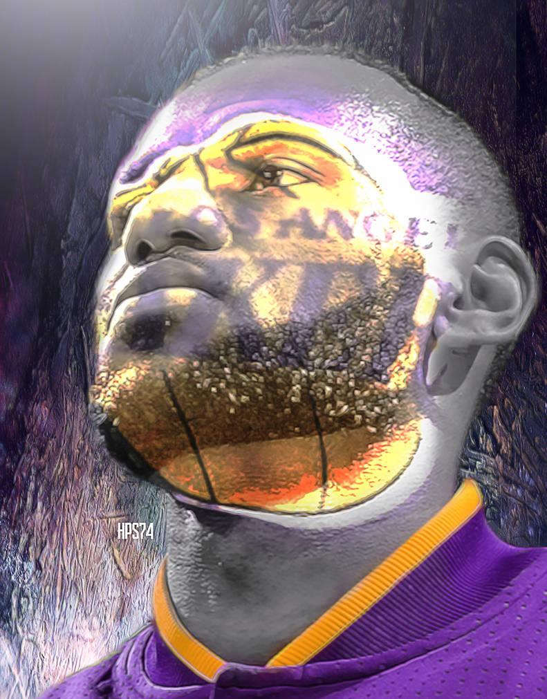 LeBron James Lakers wallpaper by HPS74 ...