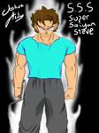 Super Saiyan Steve