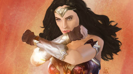 Wonder Woman (Gal Gadot) by chibikobayashi