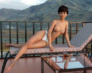 Hotel Balcony -- Western US by 2Loose2Trek