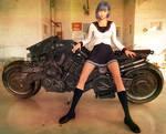 Cyborg Motorbike