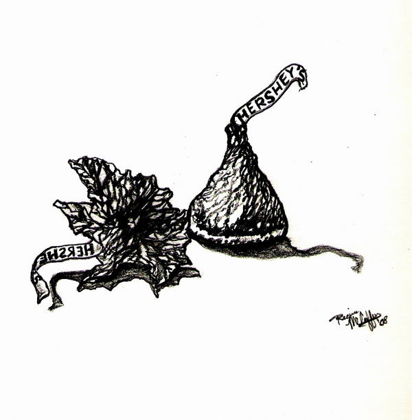 This is a photo of Old Fashioned Hershey Kiss Drawing