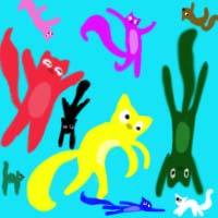 tbrozow Background Picture Cats by Aninejac