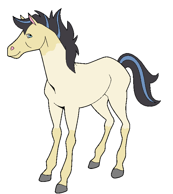Horseland jimber coloring pages