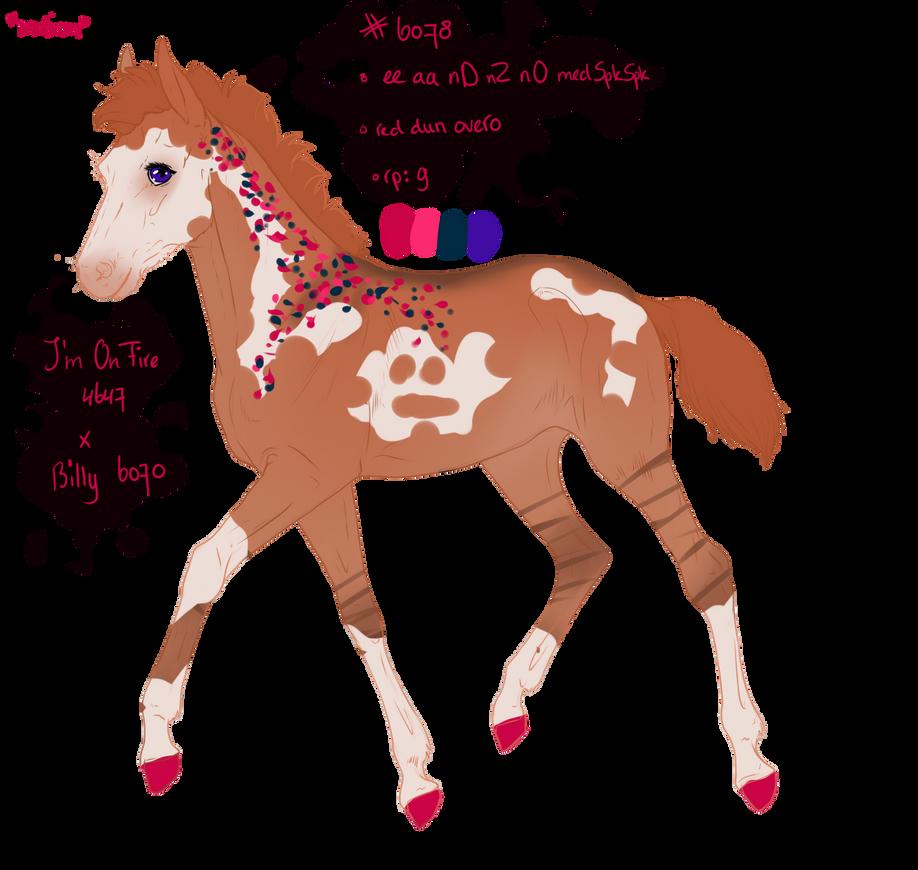 6078 padro foal design by sandym918