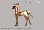 R459 Boucle Foal Design