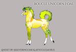 X438 Boucle Foal Design