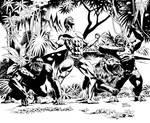 Tarzan art