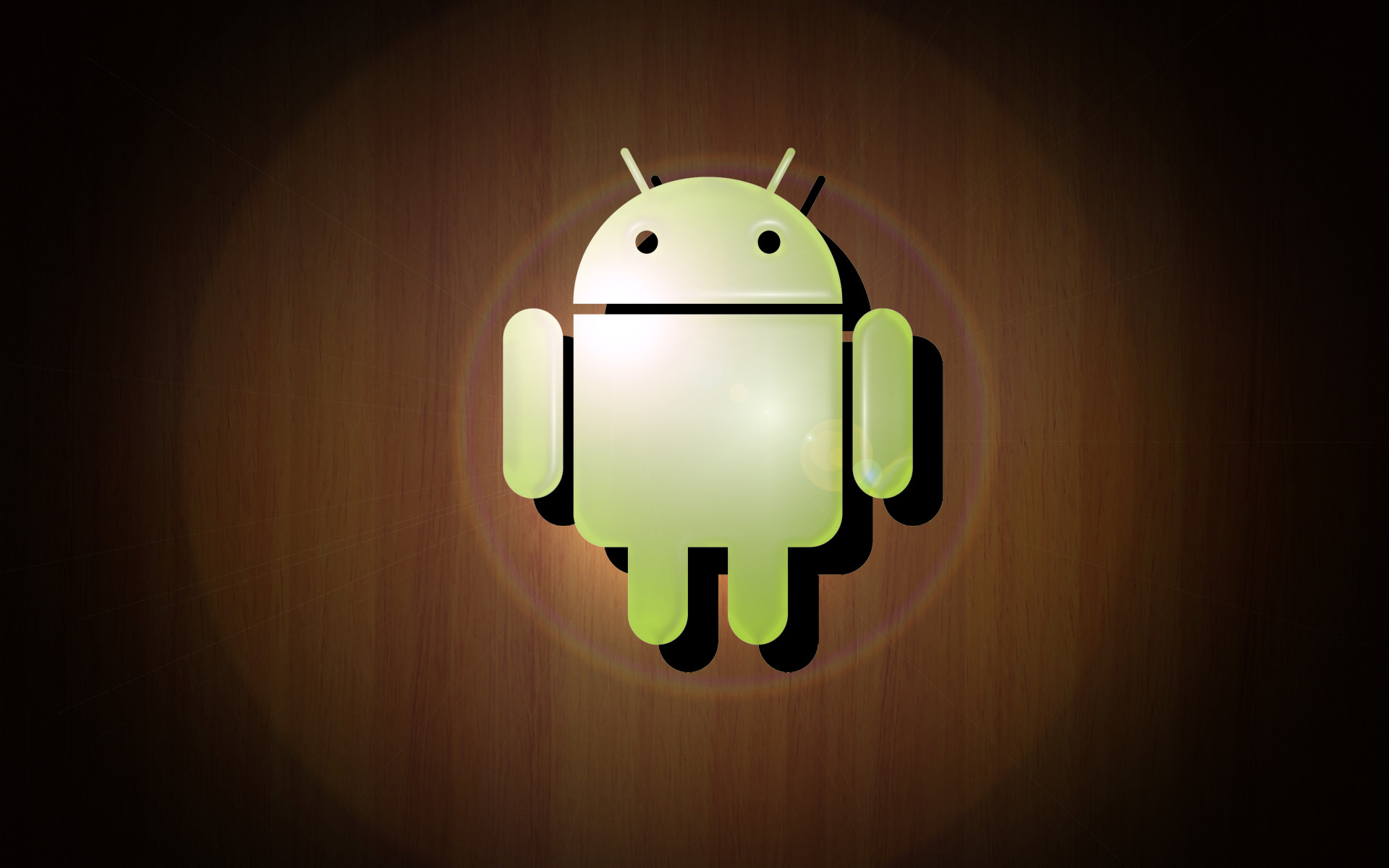 Android Wood Wallpaper by ~wildstang83 o : ドロイドくん