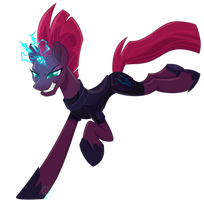 (MLP) Movie style tempest shadow by ScottiePaws