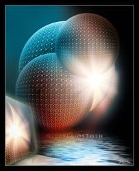 Abstract XIII - Blue Sundown