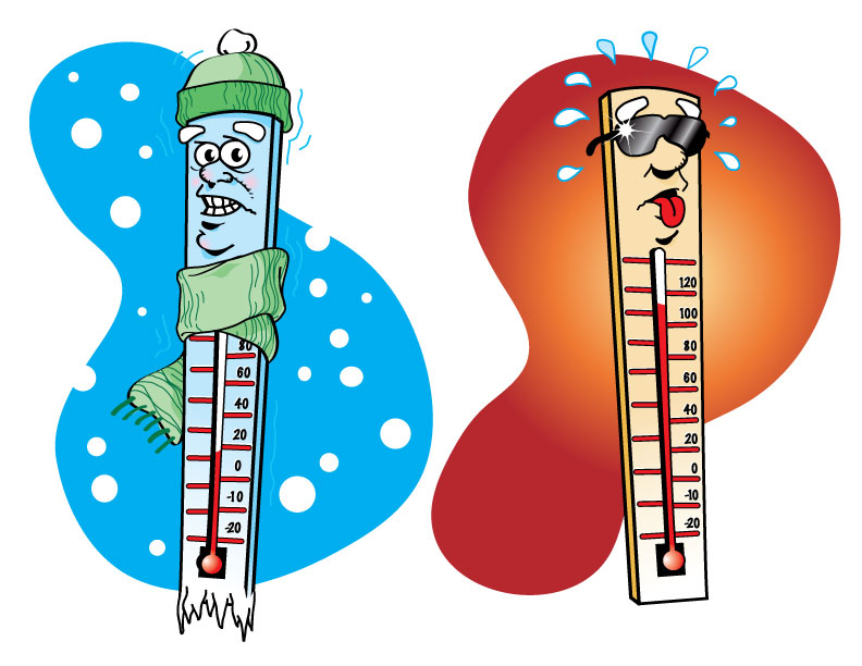 Hot And Cold Illos By Simianbrothers On Deviantart