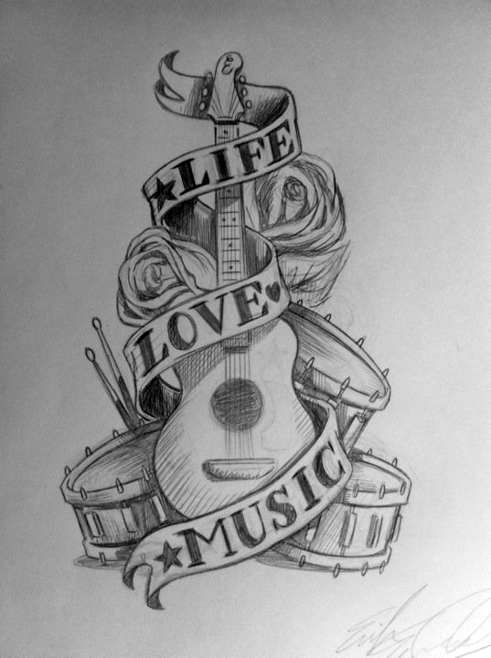 Life Love Music by SimianBrothers on DeviantArt