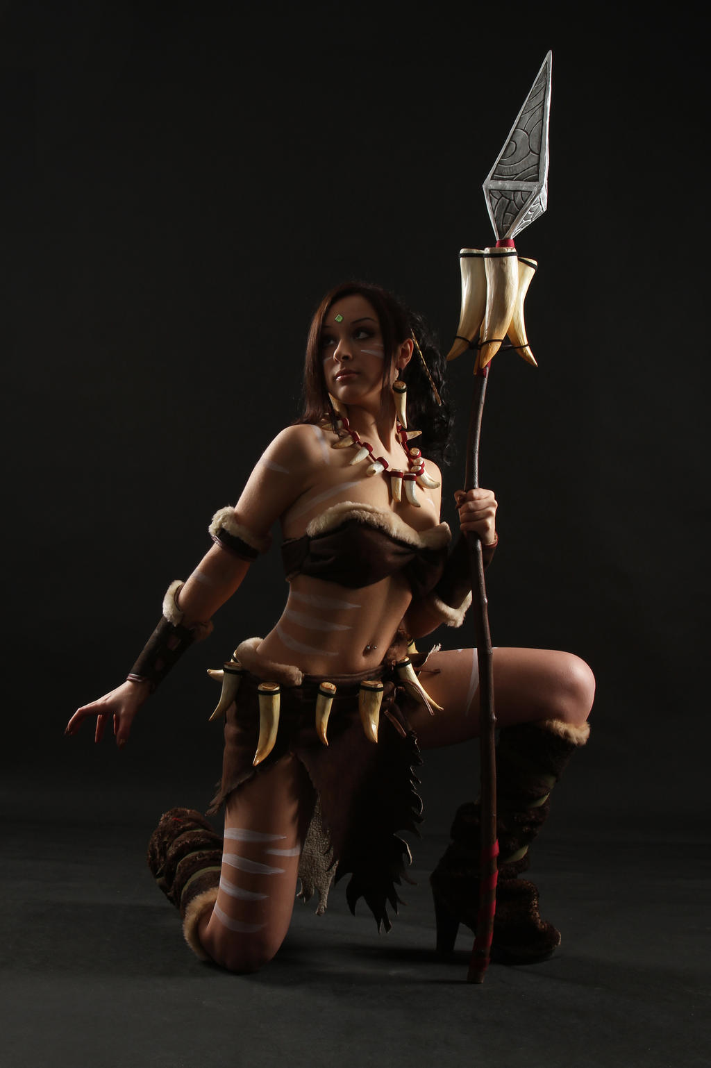Nidalee cosplay 2 by IssabelCosplay
