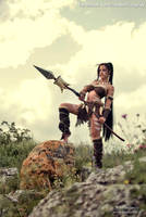 Nidalee cosplay by IssabelCosplay