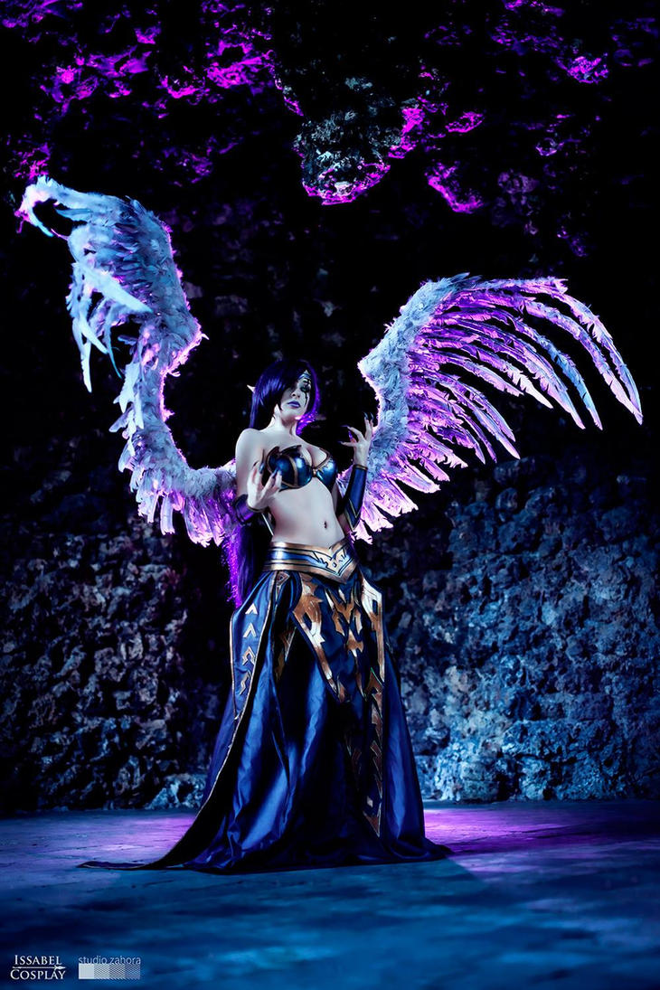 Morgana, the Fallen Angel by IssabelCosplay