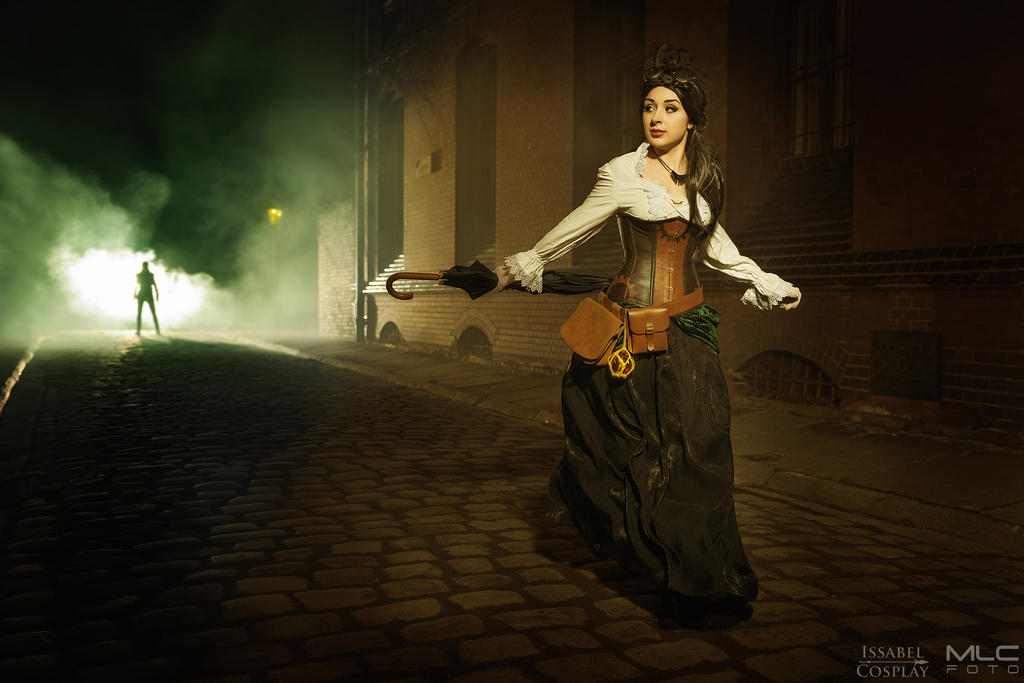 Violet Adair, steampunk cosplay