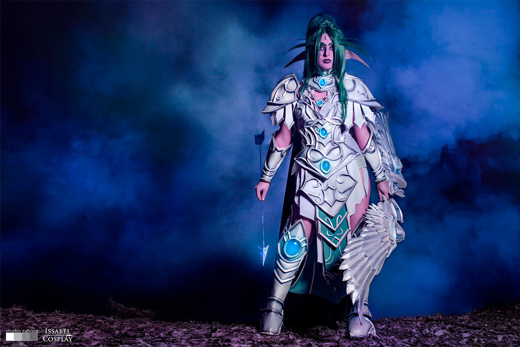 Tyrande Whisperwind cosplay, Heroes of the Storm by IssabelCosplay