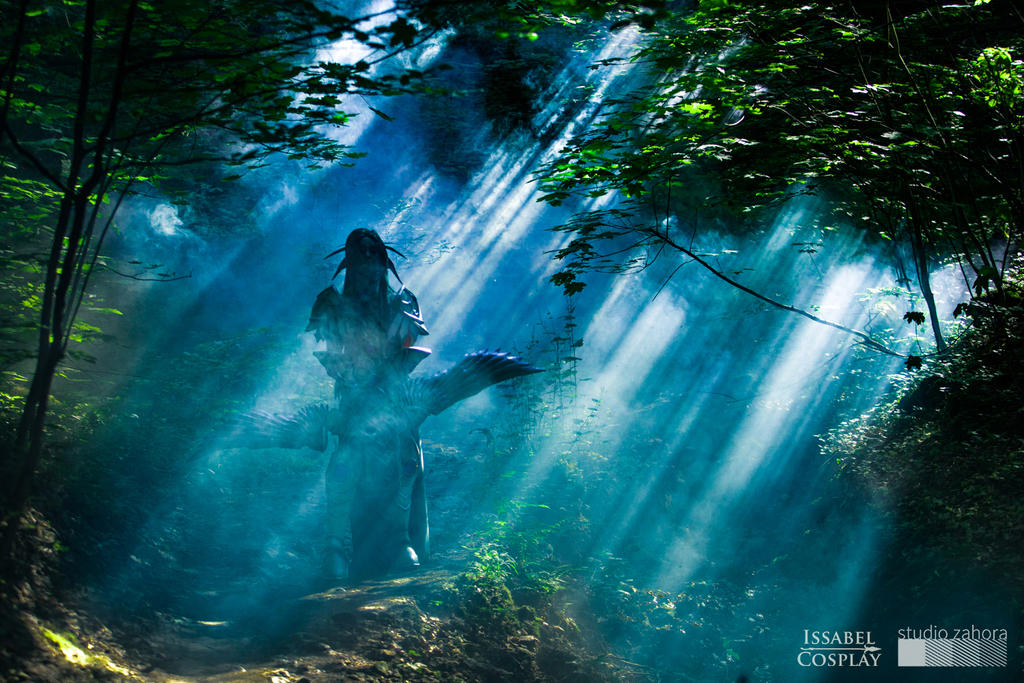 Tyrande Whisperwind - photoshoot teaser by IssabelCosplay