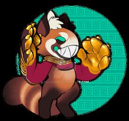 Red Panda Scarfox Mini