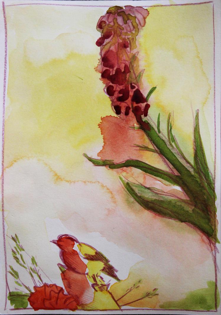 Bird Series #1 by Foxflake