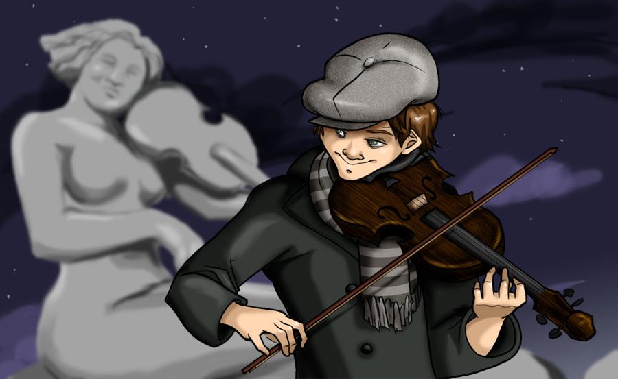 Fiddlers Son by crackhobbit