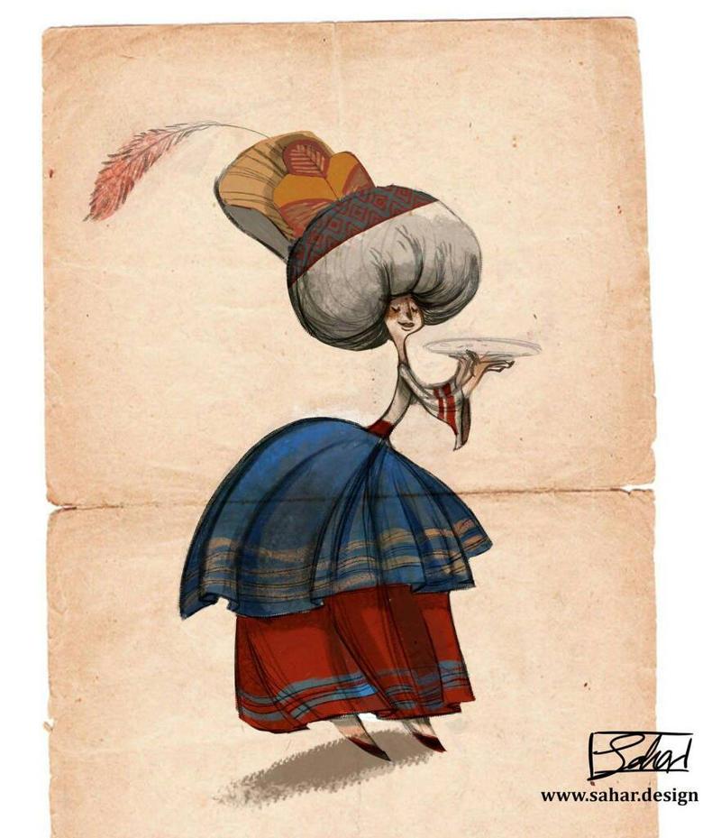Persian costume  by saharshams