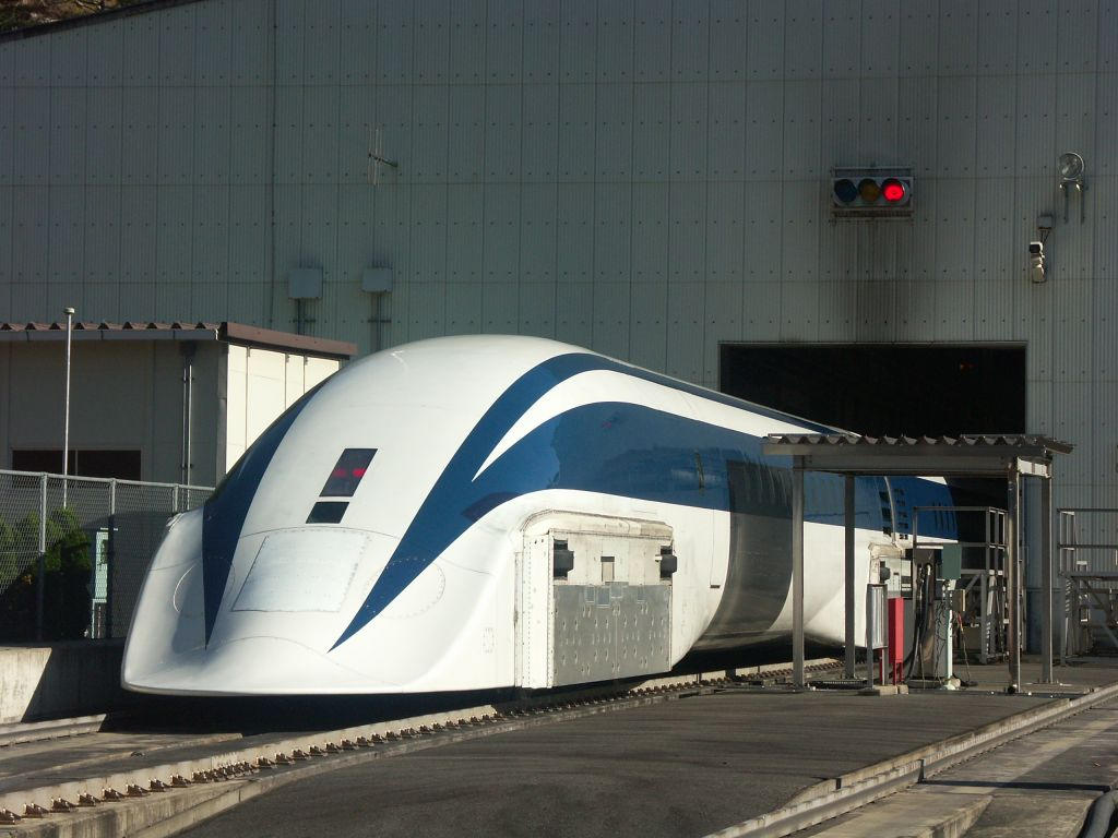 linear motors in maglev train Futuristic, modern maglev train passing on mono rail ecological future concept trains, subway, monorail, linear motor car, airplane, ship, motorcycle.