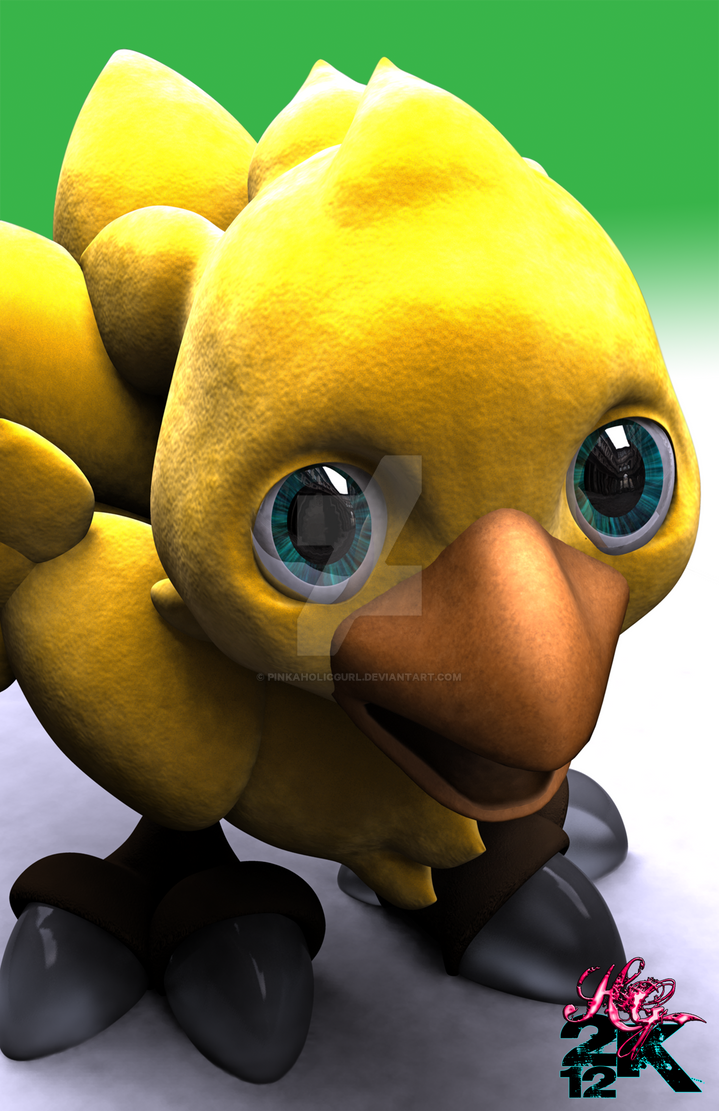 Chocobo WIP ver. 7.1 by pinkaholicgurl
