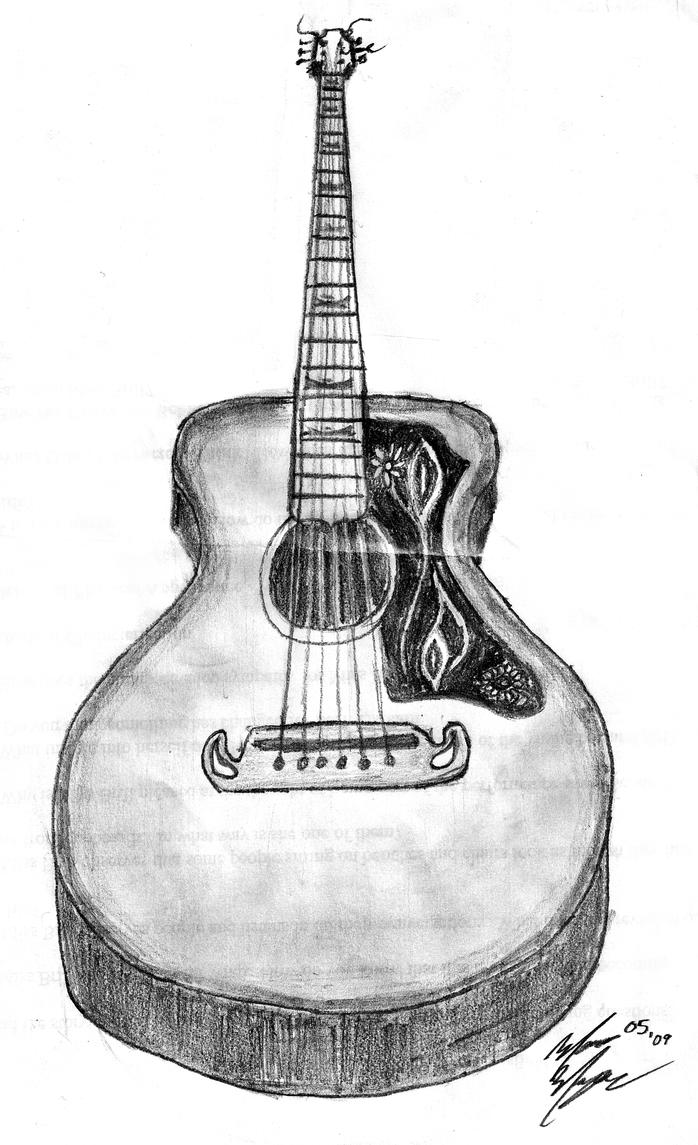 Gibson Jumbo Acoustic Guitar by Marco033 on DeviantArt