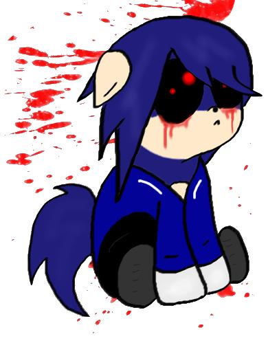 Sonic exe by kanashiibara on deviantart