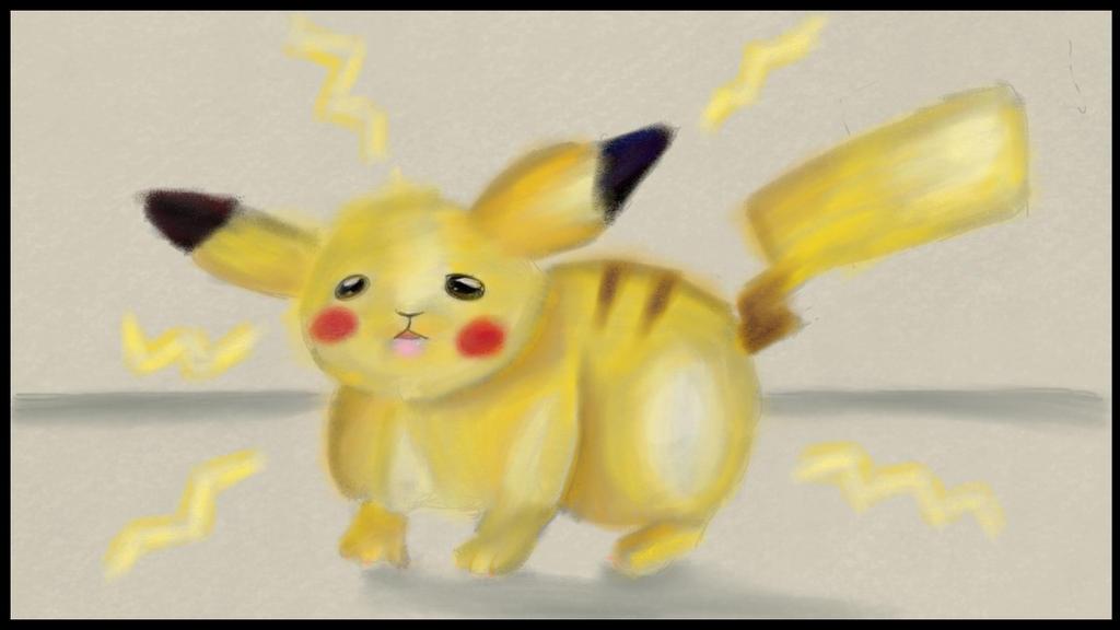 pikachu by omgCheez