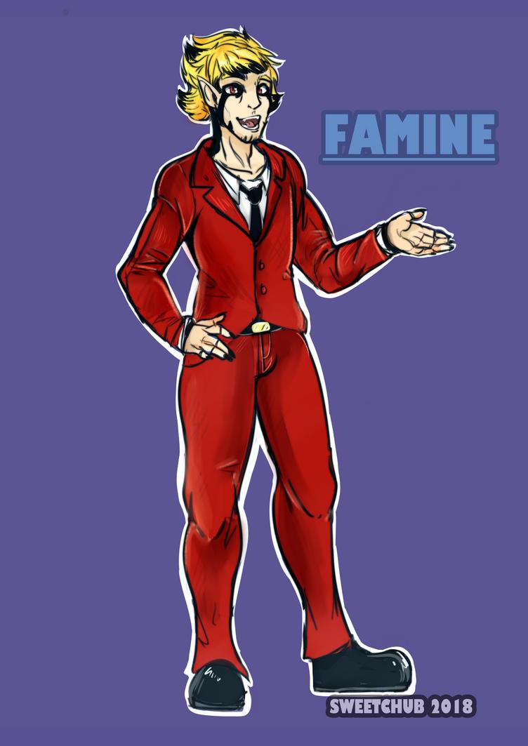 Famine fullbody {COM} by SweetChub