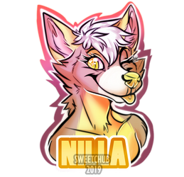 Nilla badge by SweetChub