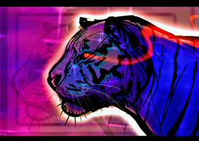 Aesthetic Tiger