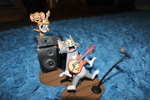 tom and jerry figure 1st 01 by the-fire-guy