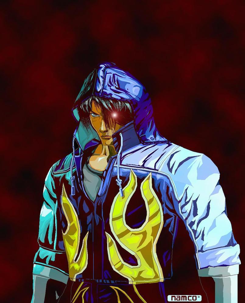 Jin kazama hoodie