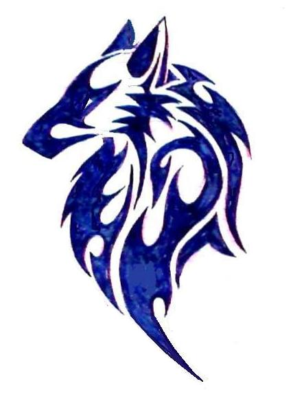 Tribal wolf tattoo by dracula15 on deviantart for Tribal wolf tattoo
