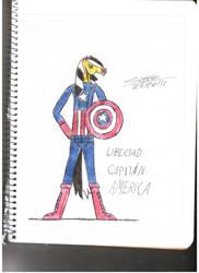 capitan america by SpiritGoldenXD