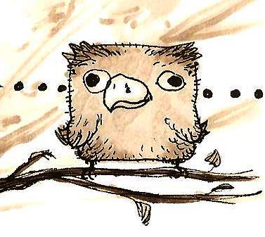 Stupid Bird by Fratos