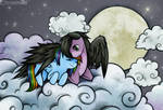 Skywind and Rainbow Dash
