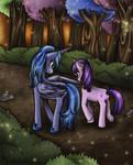 Luna and Twilight
