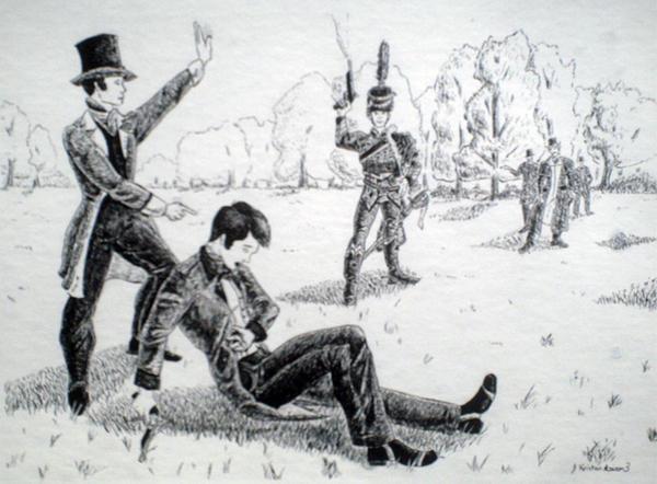 Death of Galois by Penguinton on DeviantArt