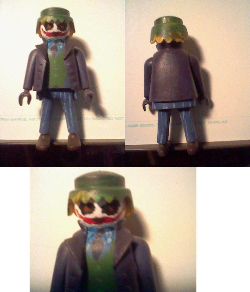 Playmobil joker by penguinton on deviantart - Batman playmobil ...