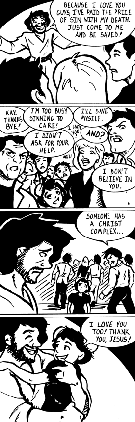 I love Jesus by Penguinton
