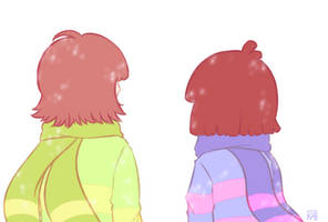 [UNDERTALE] Sweater Weather by XxkaibutsukoxX