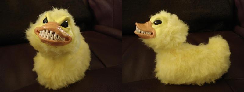 evil ducky..