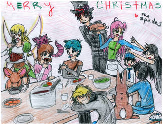 Spade Christmas Dinner by kyohattress34654