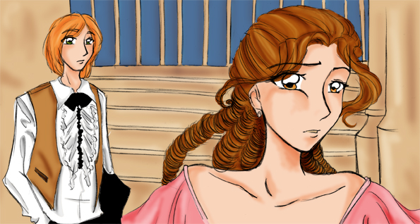 ron and hermione by seri-serotina