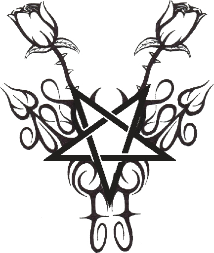 pentagram tattoo art 5 by fruchtfrosch on deviantart. Black Bedroom Furniture Sets. Home Design Ideas